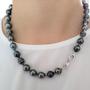 Tahitian Pearl Baroque Necklace